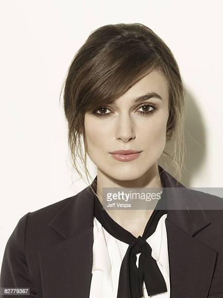 Actress Keira Knightley poses for a portrait session at the Toronto International Film Festival on September 7 2008