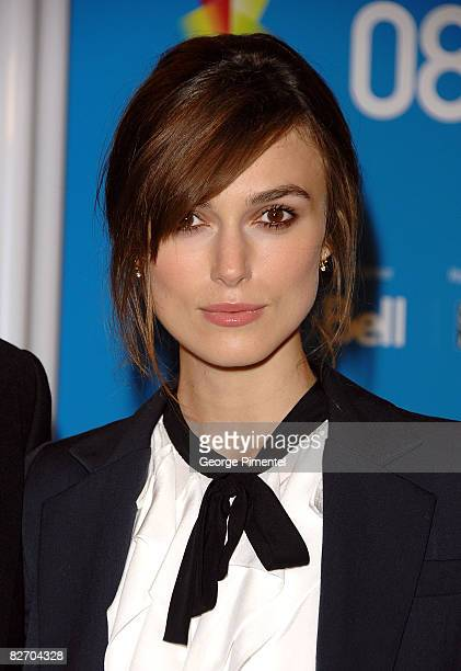 2008 toronto international film festival the duchess press conference actress keira knightley