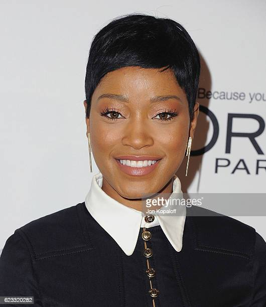Actress Keke Palmer arrives at Glamour Women Of The Year 2016 at NeueHouse Hollywood on November 14 2016 in Los Angeles California