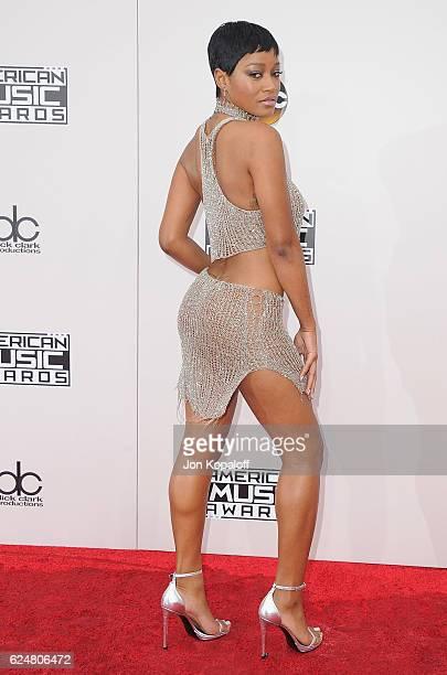 Actress Keke Palmer arrives at the 2016 American Music Awards at Microsoft Theater on November 20 2016 in Los Angeles California
