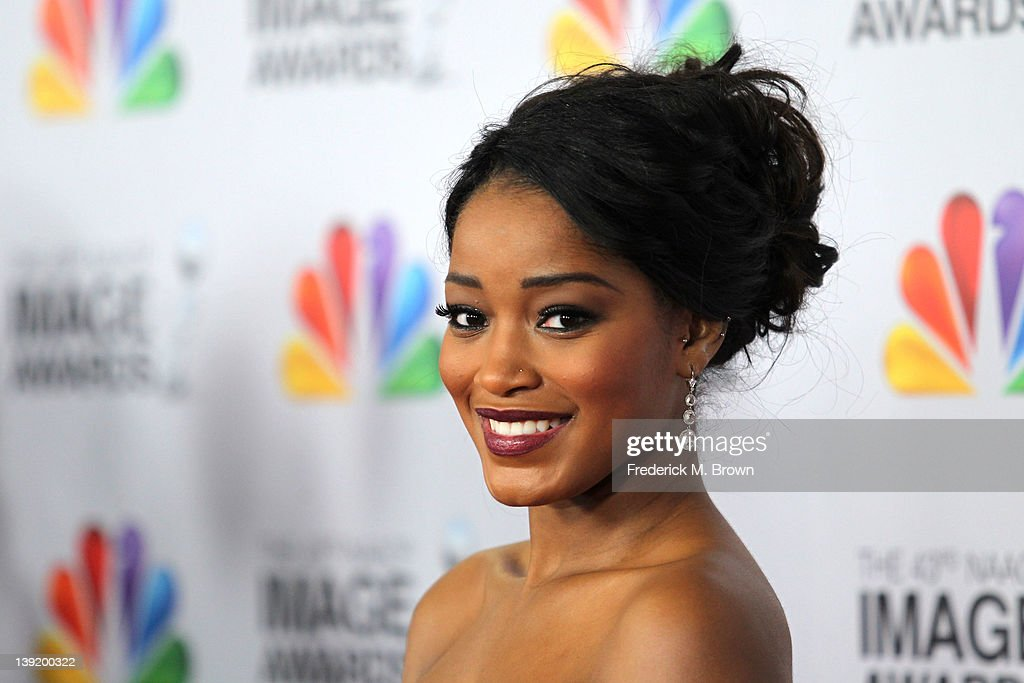 Actress Keke Palmer arrives at the 43rd NAACP Image Awards held at The Shrine Auditorium on February 17, 2012 in Los Angeles, California.