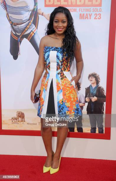 Actress Keke Palmer arrives at the Los Angeles premiere of 'Blended' at TCL Chinese Theatre on May 21 2014 in Hollywood California
