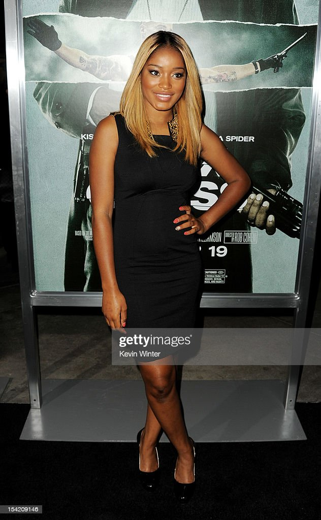 Actress Keke Palmer arrives at the premiere of Summit Entertainment's 'Alex Cross' at the Arclight Theater on October 15, 2012 in Los Angeles, California.