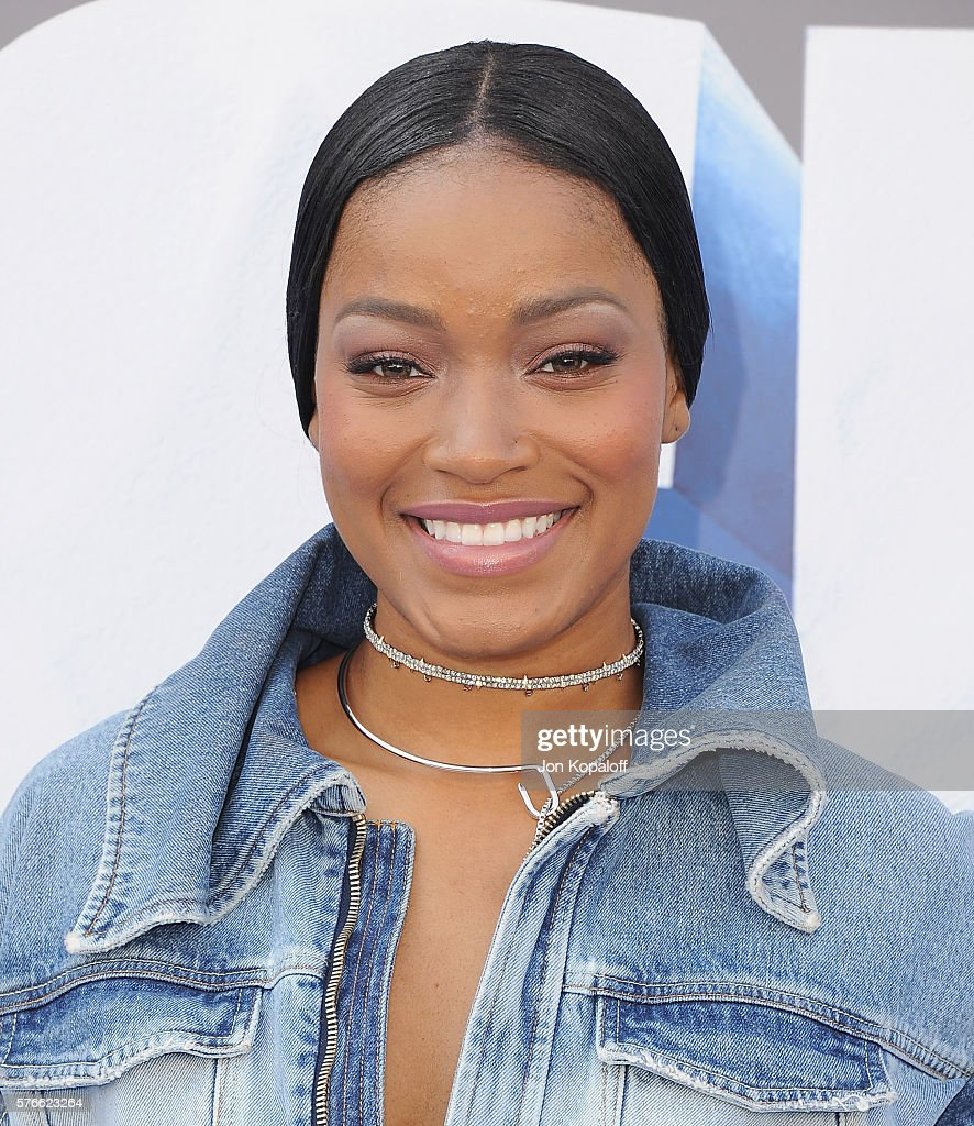 Actress Keke Palmer arrives at the screening Of 'Ice Age Collision Course' at Zanuck Theater at 20th Century Fox Lot on July 16 2016 in Los Angeles...