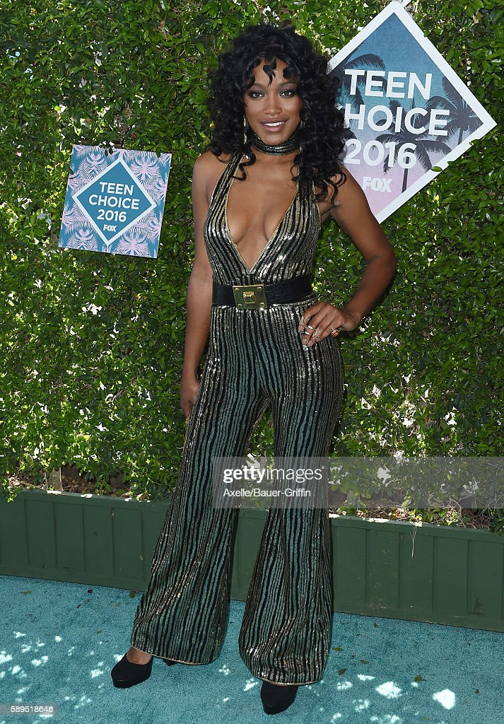 Actress Keke Palmer arrives at the Teen Choice Awards 2016 at The Forum on July 31 2016 in Inglewood California