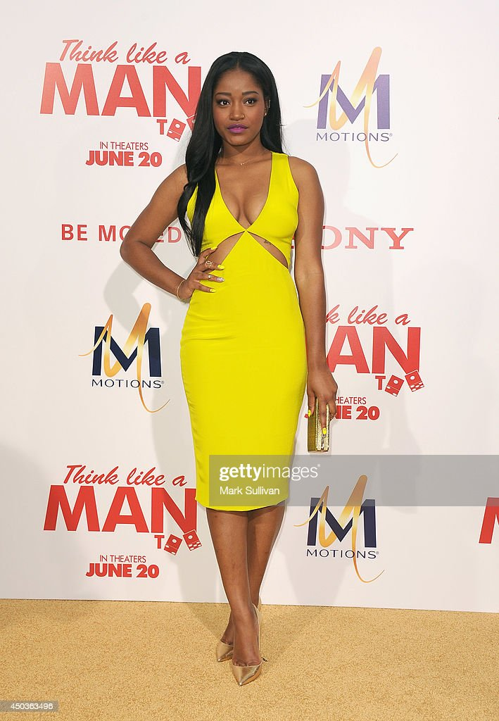 Actress <a gi-track='captionPersonalityLinkClicked' href=/galleries/search?phrase=Keke+Palmer&family=editorial&specificpeople=653121 ng-click='$event.stopPropagation()'>Keke Palmer</a> arrives for the premiere of 'Think Like A Man Too' at TCL Chinese Theatre on June 9, 2014 in Hollywood, California.