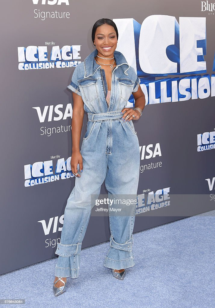 Actress Keke Palmer attends a screening of 'Ice Age Collision Course' at Zanuck Theater at 20th Century Fox Lot on July 16 2016 in Los Angeles...