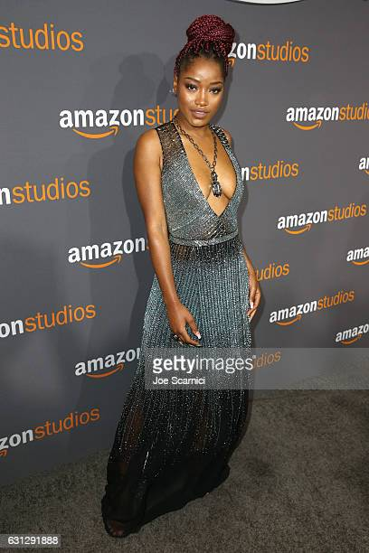 Actress Keke Palmer attends Amazon Studios Golden Globes Celebration at The Beverly Hilton Hotel on January 8 2017 in Beverly Hills California