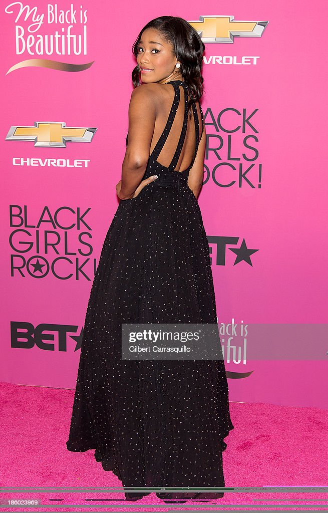 Actress <a gi-track='captionPersonalityLinkClicked' href=/galleries/search?phrase=Keke+Palmer&family=editorial&specificpeople=653121 ng-click='$event.stopPropagation()'>Keke Palmer</a> attends Black Girls Rock! 2013 at New Jersey Performing Arts Center on October 26, 2013 in Newark, New Jersey.