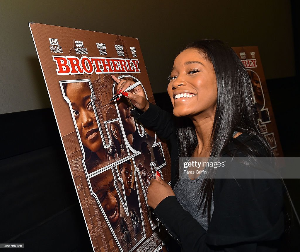 Actress Keke Palmer Attends Brotherly Love Atlanta College