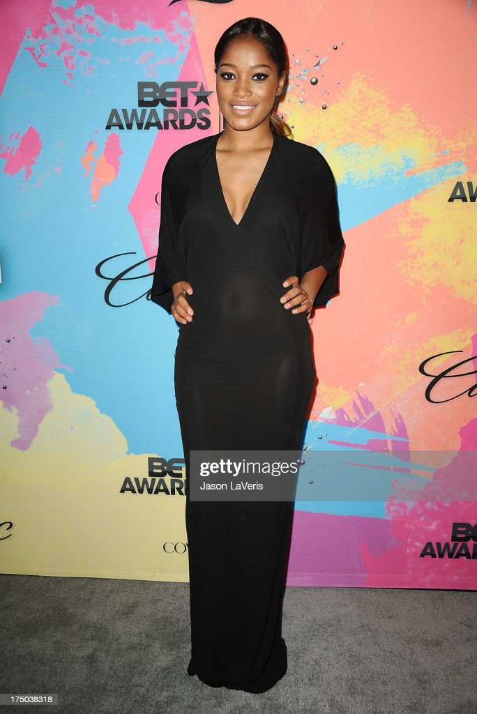Actress <a gi-track='captionPersonalityLinkClicked' href=/galleries/search?phrase=Keke+Palmer&family=editorial&specificpeople=653121 ng-click='$event.stopPropagation()'>Keke Palmer</a> attends Debra L. Lee's 7th annual VIP pre BET dinner event at Milk Studios on June 29, 2013 in Los Angeles, California.