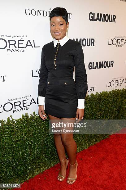 Actress Keke Palmer attends Glamour Women Of The Year 2016 at NeueHouse Hollywood on November 14 2016 in Los Angeles California