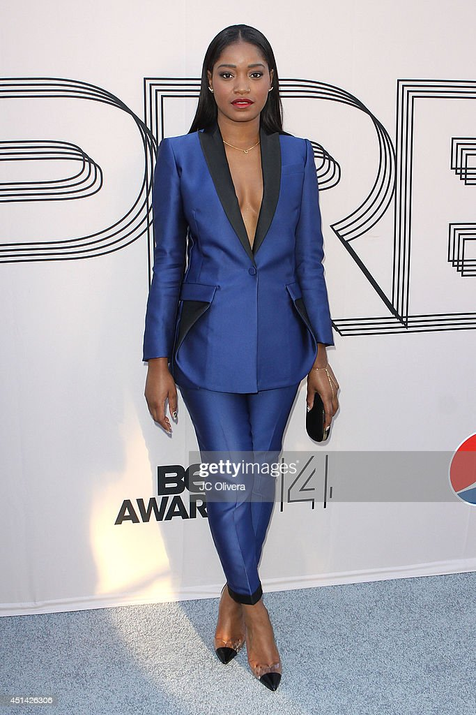 Actress <a gi-track='captionPersonalityLinkClicked' href=/galleries/search?phrase=Keke+Palmer&family=editorial&specificpeople=653121 ng-click='$event.stopPropagation()'>Keke Palmer</a> attends 'PRE' BET Awards Dinner at Milk Studios on June 28, 2014 in Hollywood, California.