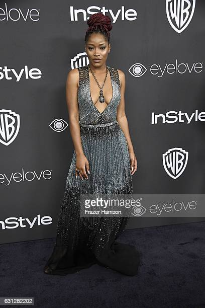 Actress Keke Palmer attends the 18th Annual PostGolden Globes Party hosted by Warner Bros Pictures and InStyle at The Beverly Hilton Hotel on January...