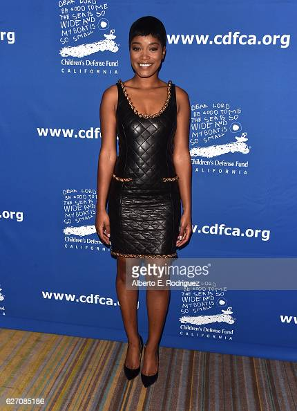 Actress Keke Palmer attends the 26th Annual Beat The Odds Awards hosted by Children's Defense Fund California at Regent Beverly Wilshire Hotel on...