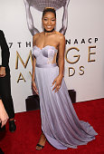 Actress Keke Palmer attends the 47th NAACP Image Awards presented by TV One at Pasadena Civic Auditorium on February 5 2016 in Pasadena California