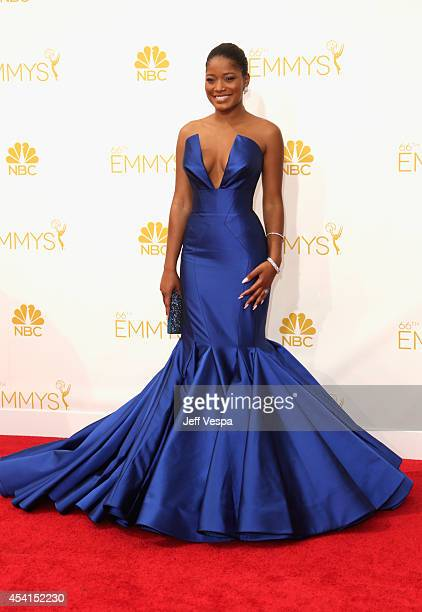 Actress Keke Palmer attends the 66th Annual Primetime Emmy Awards held at Nokia Theatre LA Live on August 25 2014 in Los Angeles California
