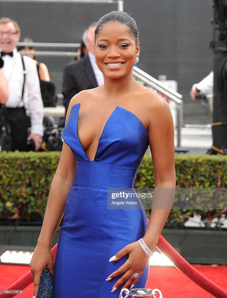 Actress <a gi-track='captionPersonalityLinkClicked' href=/galleries/search?phrase=Keke+Palmer&family=editorial&specificpeople=653121 ng-click='$event.stopPropagation()'>Keke Palmer</a> attends the 66th Annual Primetime Emmy Awards held at the Nokia Theatre L.A. Live on August 25, 2014 in Los Angeles, California.