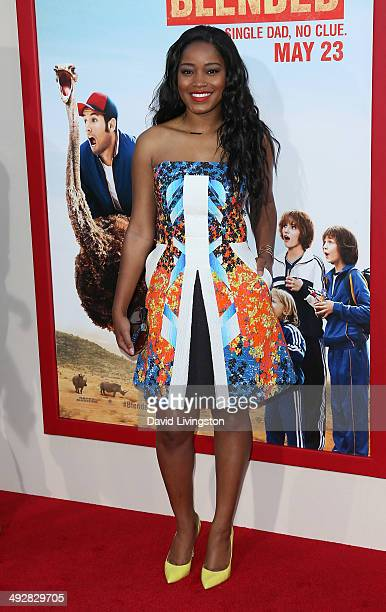Actress Keke Palmer attends the Los Angeles premiere of 'Blended' at the TCL Chinese Theatre on May 21 2014 in Hollywood California