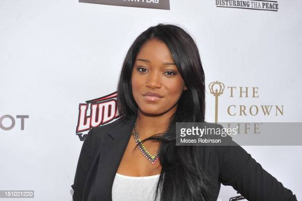 Actress KeKe Palmer attends the Luda Day 2012 Launch Dinner at Frank Ski Lounge on August 30 2012 in Atlanta Georgia
