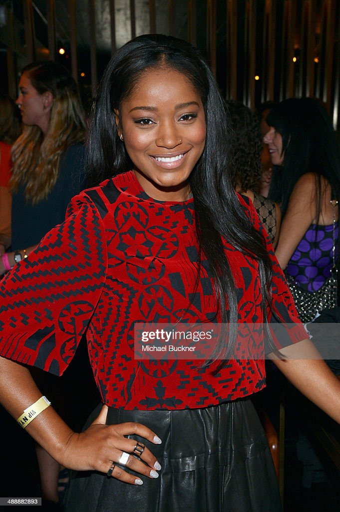 Actress <a gi-track='captionPersonalityLinkClicked' href=/galleries/search?phrase=Keke+Palmer&family=editorial&specificpeople=653121 ng-click='$event.stopPropagation()'>Keke Palmer</a> attends the Nylon + BCBGeneration May Young Hollywood Party at Hollywood Roosevelt Hotel on May 8, 2014 in Hollywood, California.