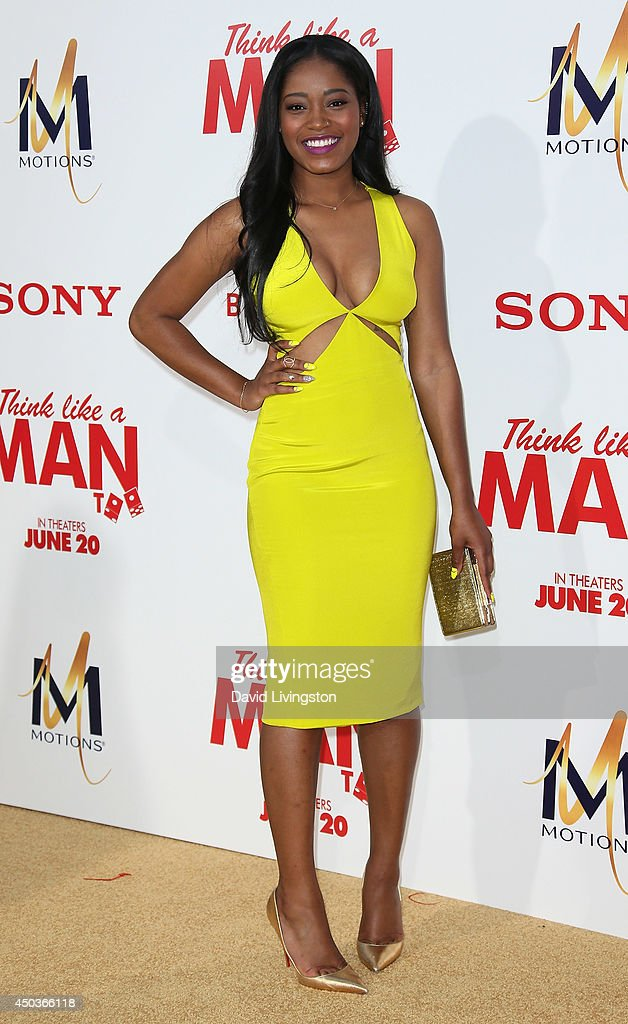 Actress Keke Palmer attends the premiere of Screen Gems' 'Think Like a Man Too' at the TCL Chinese Theatre on June 9, 2014 in Hollywood, California.