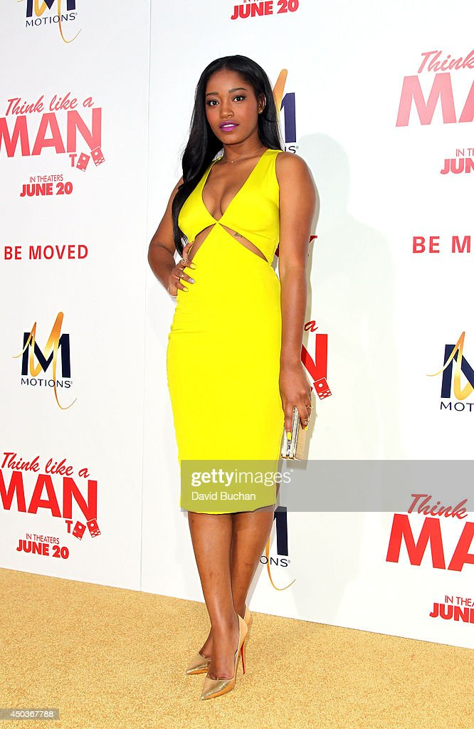 Actress Keke Palmer attends the Premiere Of Screen Gems' 'Think like a man too' at TCL Chinese Theatre on June 9, 2014 in Hollywood, California.