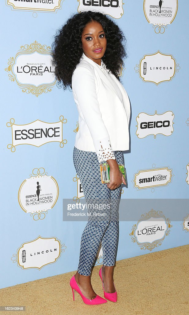Actress Keke Palmer attends the Sixth Annual ESSENCE Black Women In Hollywood Awards Luncheon at the Beverly Hills Hotel on February 21, 2013 in Beverly Hills, California.