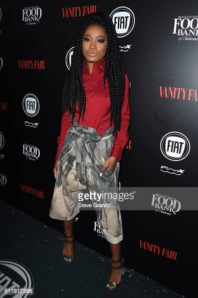 Actress Keke Palmer attends Vanity Fair and FIAT Toast To 'Young Hollywood' at Chateau Marmont on February 23 2016 in Los Angeles California