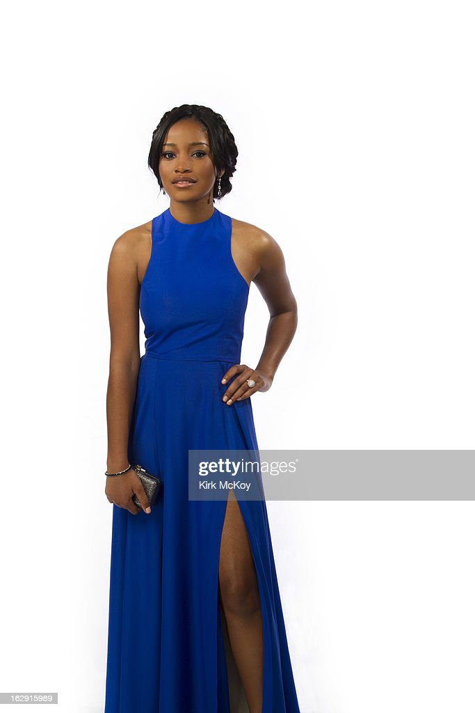 Actress Keke Palmer is photographed at the NAACP Image Awards for Los Angeles Times on February 1, 2013 in Los Angeles, California. PUBLISHED IMAGE.