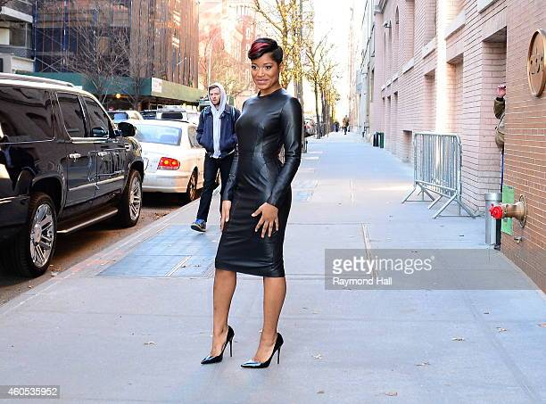 Actress Keke Palmer is seen outside The View on December 15 2014 in New York City