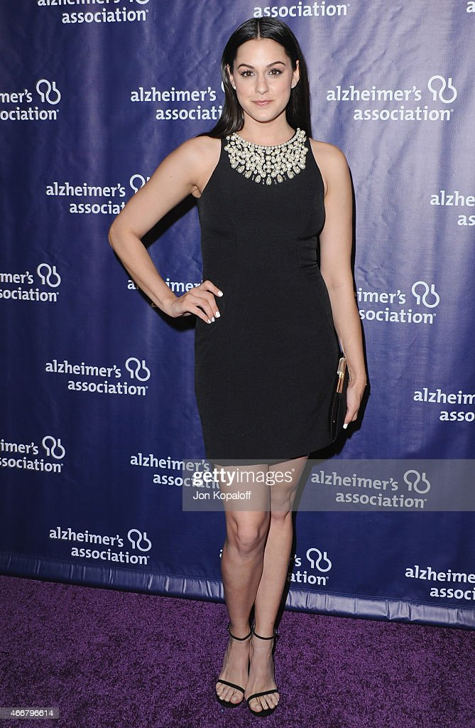 Actress Kelen Coleman arrives at the 23rd Annual 'A Night At Sardi's' To Benefit The Alzheimer's Association at The Beverly Hilton Hotel on March 18, 2015 in Beverly Hills, California.