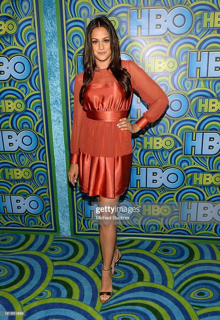 Actress Kelen Coleman attends HBO's Annual Primetime Emmy Awards Post Award Reception at The Plaza at the Pacific Design Center on September 22, 2013 in Los Angeles, California.