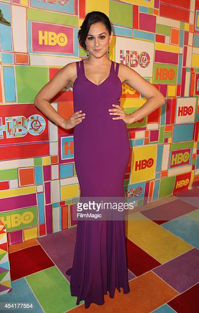 Actress Kelen Coleman attends HBO's Official 2014 Emmy After Party at The Plaza at the Pacific Design Center on August 25 2014 in Los Angeles...