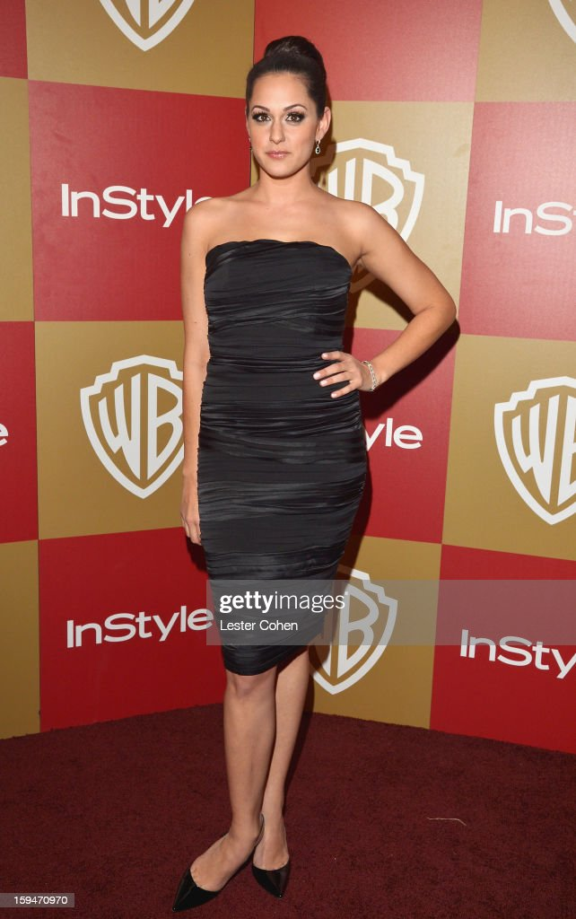 Actress Kelen Coleman attends the 2013 InStyle and Warner Bros. 70th Annual Golden Globe Awards Post-Party held at the Oasis Courtyard in The Beverly Hilton Hotel on January 13, 2013 in Beverly Hills, California.
