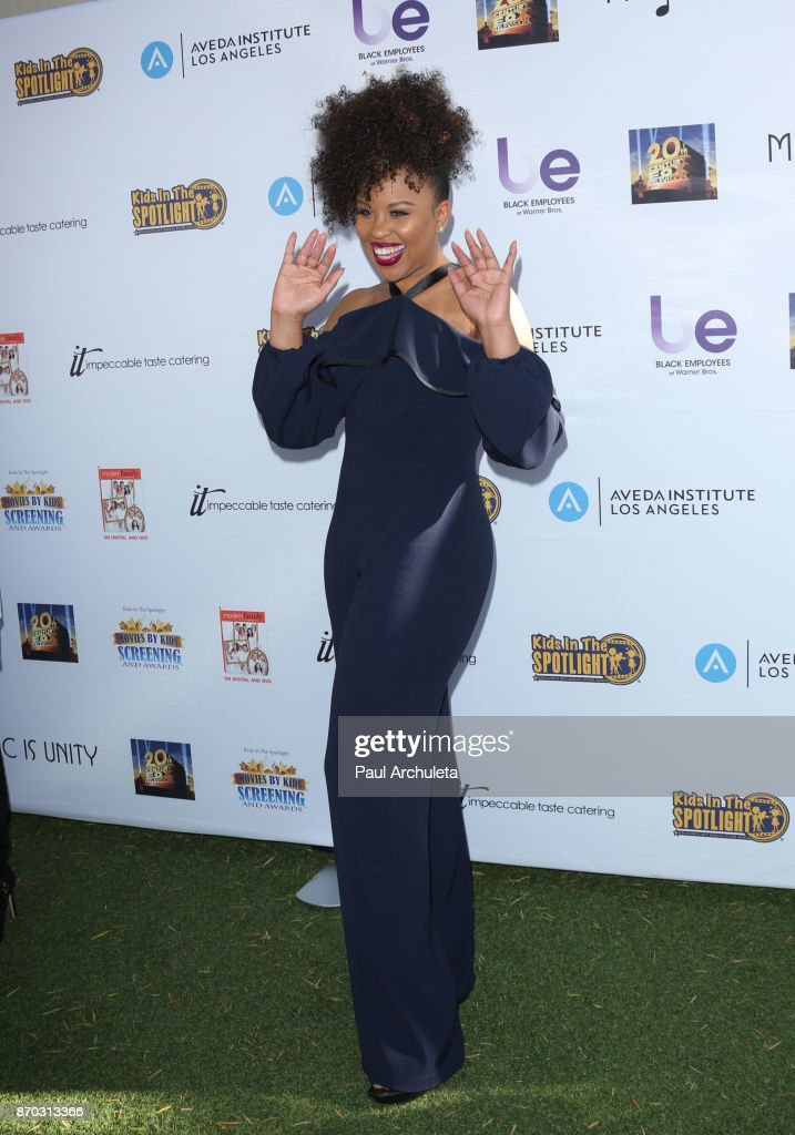"""8th Annual """"Movies By Kids"""" Screening And Awards Show - Arrivals"""