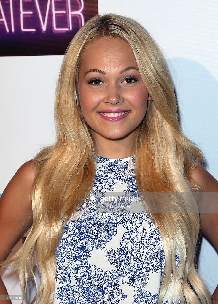 Actress <a gi-track='captionPersonalityLinkClicked' href=/galleries/search?phrase=Kelli+Berglund&family=editorial&specificpeople=8564069 ng-click='$event.stopPropagation()'>Kelli Berglund</a> attends actress Madison Pettis' Sweet 16 Birthday Party at the Emerson Theatre on July 24, 2014 in Hollywood, California.