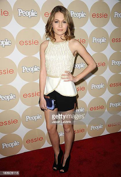 Actress Kelli Berglund attends People's 'Ones To Watch' party at Hinoki the Bird on October 9 2013 in Los Angeles California