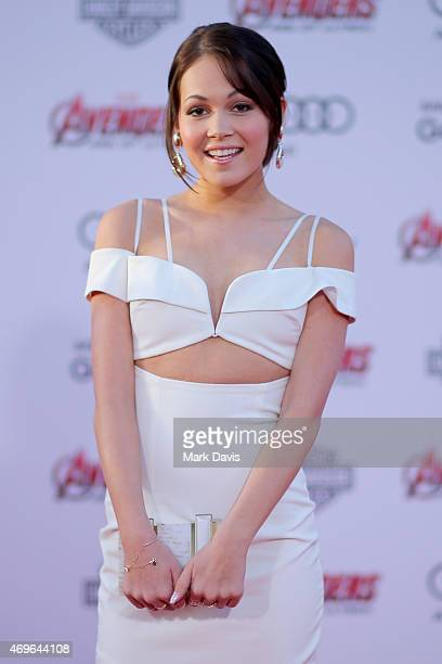 Actress Kelli Berglund attends the premiere of Marvel's 'Avengers Age Of Ultron' at Dolby Theatre on April 13 2015 in Hollywood California