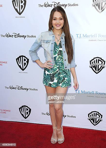 Actress Kelli Berglund attends the TJ Martell Foundation family day at CBS Studios on November 16 2014 in Studio City California