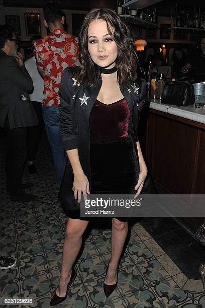 Actress Kelli Berglund attends Wolk Morais Collection 4 Fashion Show at Harlowe on November 13 2016 in West Hollywood California