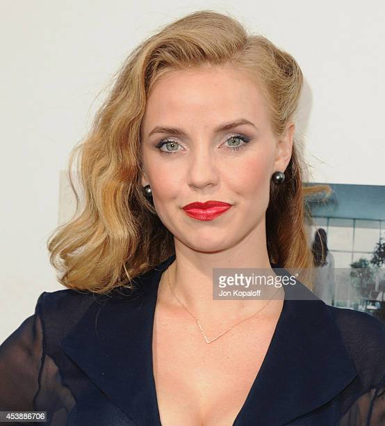 Actress Kelli Garner arrives at the Los Angeles Premiere 'If I Stay' at TCL Chinese Theatre on August 20 2014 in Hollywood California