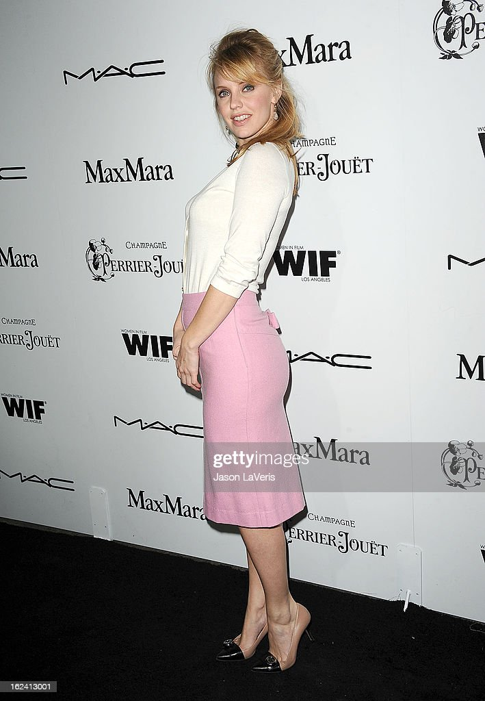 Actress Kelli Garner attends the 6th annual Women In Film pre-Oscar cocktail party at Fig & Olive Melrose Place on February 22, 2013 in West Hollywood, California.