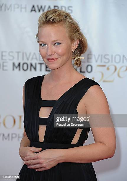 Actress Kelli Giddish arrives at the Closing Ceremony of the 52nd Monte Carlo TV Festival on June 14 2012 in MonteCarlo Monaco