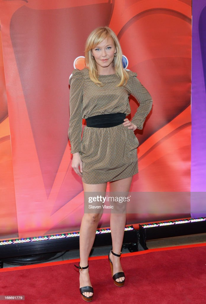 Actress Kelli Giddish attends 2013 NBC Upfront Presentation Red Carpet Event at Radio City Music Hall on May 13, 2013 in New York City.