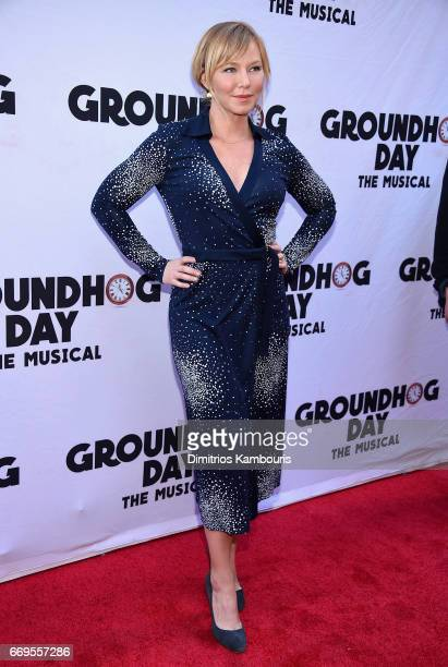 Actress Kelli Giddish attends the 'Groundhog Day' Broadway Opening Night at August Wilson Theatre on April 17 2017 in New York City