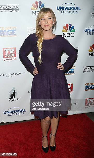 Actress Kelli Giddish attends the TV Guide celebrates Mariska Hargitay at Gansevoort Park Avenue on January 11 2017 in New York City