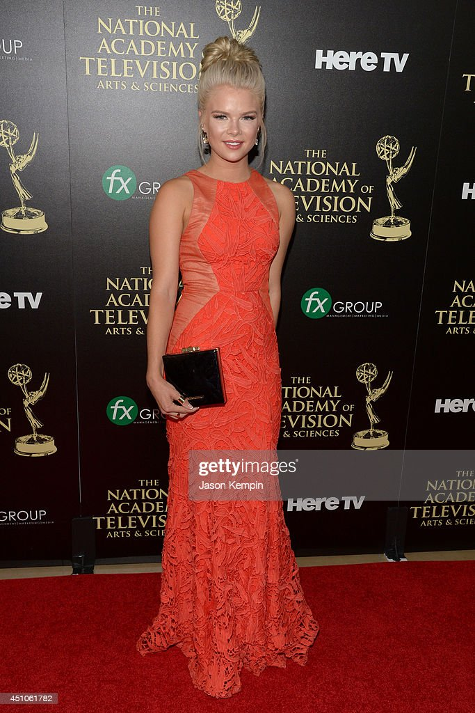 Actress Kelli Goss attends The 41st Annual Daytime Emmy Awards at The Beverly Hilton Hotel on June 22, 2014 in Beverly Hills, California.