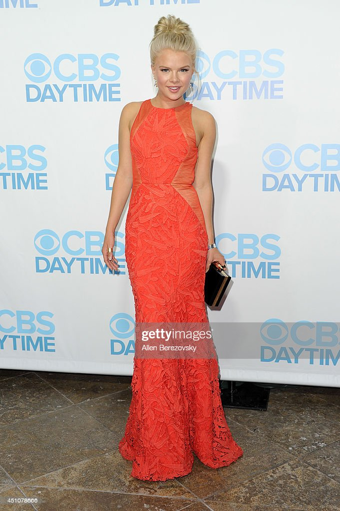 Actress <a gi-track='captionPersonalityLinkClicked' href=/galleries/search?phrase=Kelli+Goss&family=editorial&specificpeople=7229505 ng-click='$event.stopPropagation()'>Kelli Goss</a> attends the 41st Annual Daytime Emmy Awards CBS After Party at The Beverly Hilton Hotel on June 22, 2014 in Beverly Hills, California.