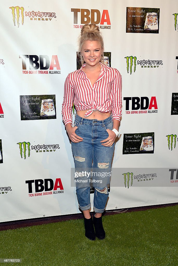 Actress <a gi-track='captionPersonalityLinkClicked' href=/galleries/search?phrase=Kelli+Goss&family=editorial&specificpeople=7229505 ng-click='$event.stopPropagation()'>Kelli Goss</a> attends the Lyme Light Benefit Concert at El Rey Theatre on May 1, 2014 in Los Angeles, California.